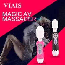 Magia Poderosa Multispeed Varita Personal Massager de Hadas de Mini AV Femenino Vibrador estimulador Del clítoris Juguetes Sexuales Para Mujeres VIS05015