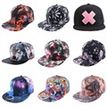 wholesale new fashion sports caps women mens novelty snapback snap back hats printed pattern cool outdoor girl boys baseball cap