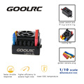GoolRC 120A 2~6S LiPo Battery Sensored Brushless Electronic Brushless Speed Controller ESC for 1/8 RC Car