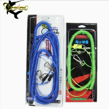 цена на 5M Fishing safety line missed rope fishing ropes fishing missed rope Embedded wire Stainless free shipping