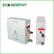 ECO-WOTHY Новый 9KW Парогенератор/Сауна Баня Главная Spa Душ и Контроллер