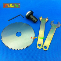 VANGEL Applicable To Motor Shaft Diameter 5mm 6mm 8mm 10mm For Electric 4 Saw Blade 100mm