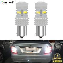 CANbus – feu de recul blanc P21W LED pour voiture, pour Mercedes classe C W203 C180 C200 C220 C230 C240 C270 C280 C300 C320 C350 00-07