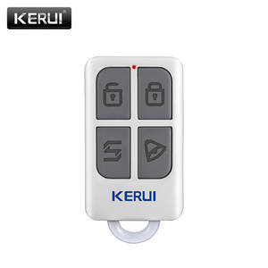 KERUI Keychain Alarm-System Remote-Control WIFI 4-Buttons Home-Security Wireless