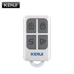 KERUI bezprzewodowy, wysokiej jakości przenośny pilot zdalnego sterowania 4 przyciski brelok dla WIFI GSM PSTN system alarmowy do domu