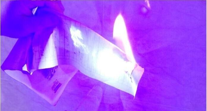 potência ponteiro Laser Azul Lanterna Queima jogo