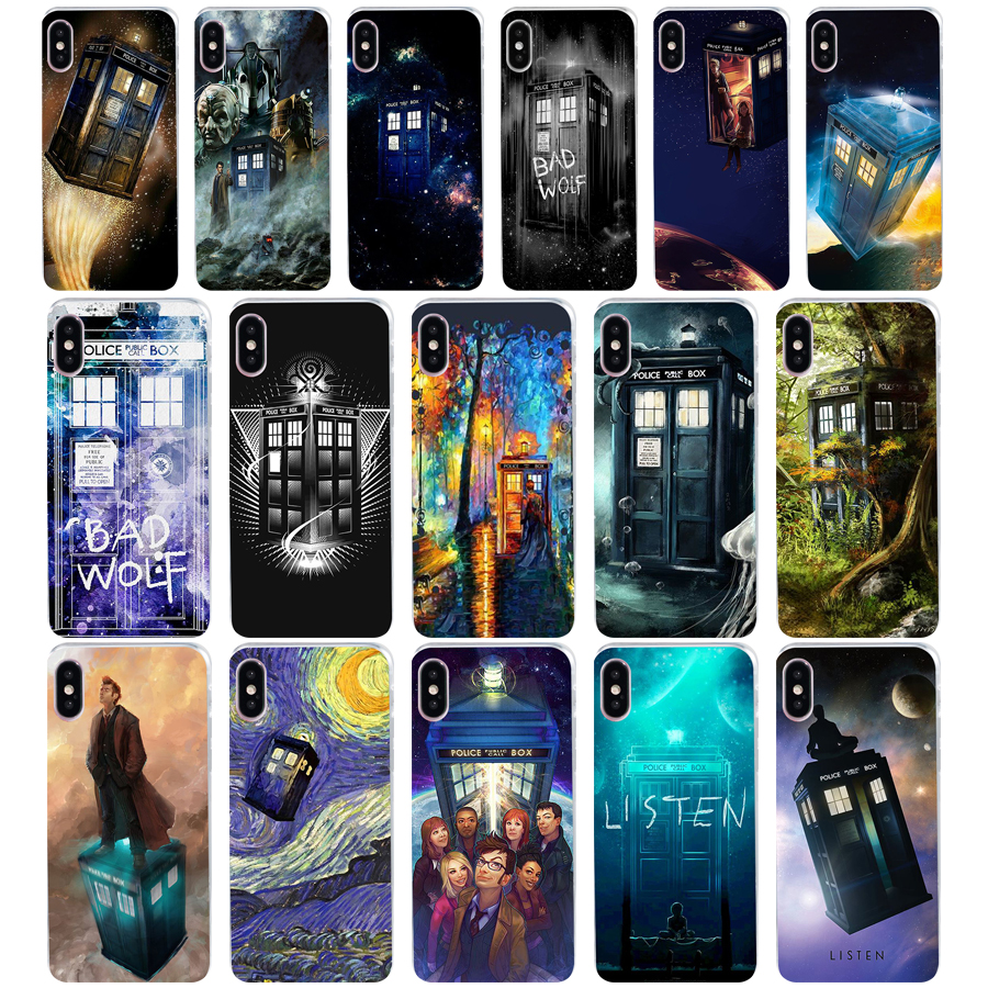 Sunny 54we Box Doctor Who Soft Silicone Tpu Cover Phone Case For Iphone 5 5s Se X Xr Xs Max Case Great Varieties Phone Bags & Cases Half-wrapped Case