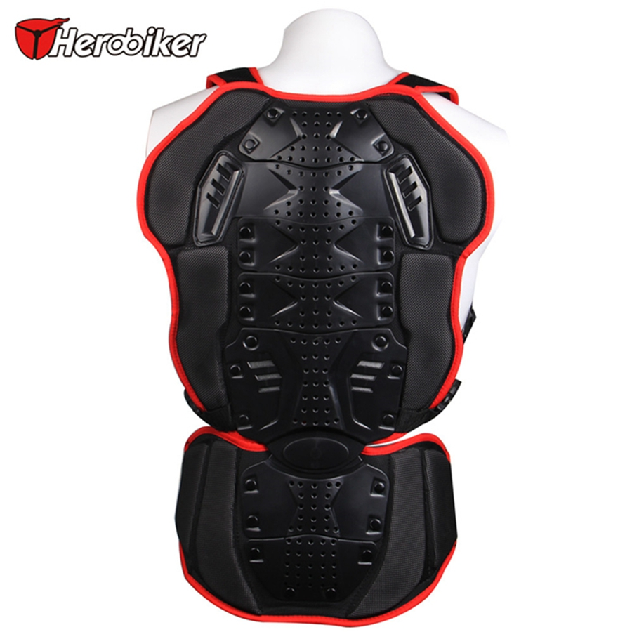 Free shipping 1pcs Motocross Racing Full Body Armor Motorcycle Spine Chest Protective Gear Jacket