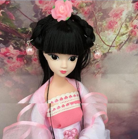 Factory Outlets Beautiful Girl Chinese Traditional Doll Toys For Girl Birthday Presents 12 Joint Dolls Hobby birthday gift