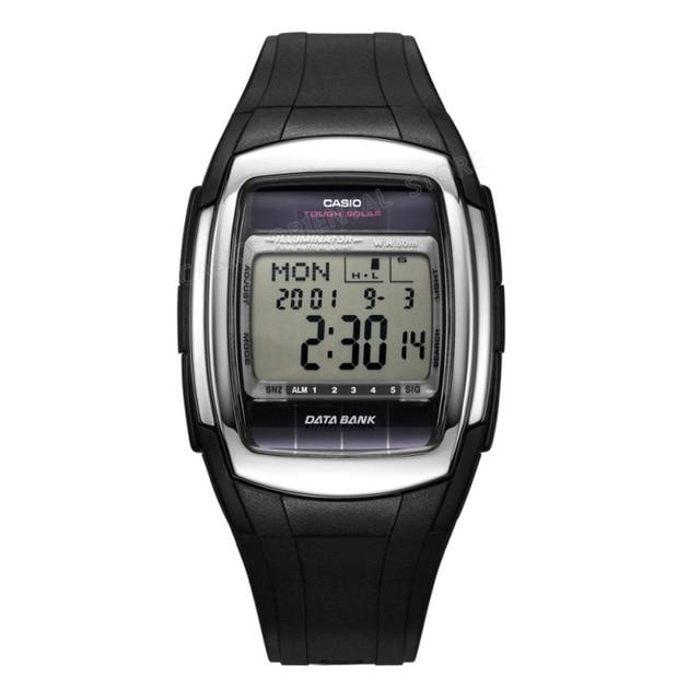 bfac803e501 Casio Relógio Digital Mens Relógio banda de aço de Luxo Relógio de Quartzo  Dos Homens Do