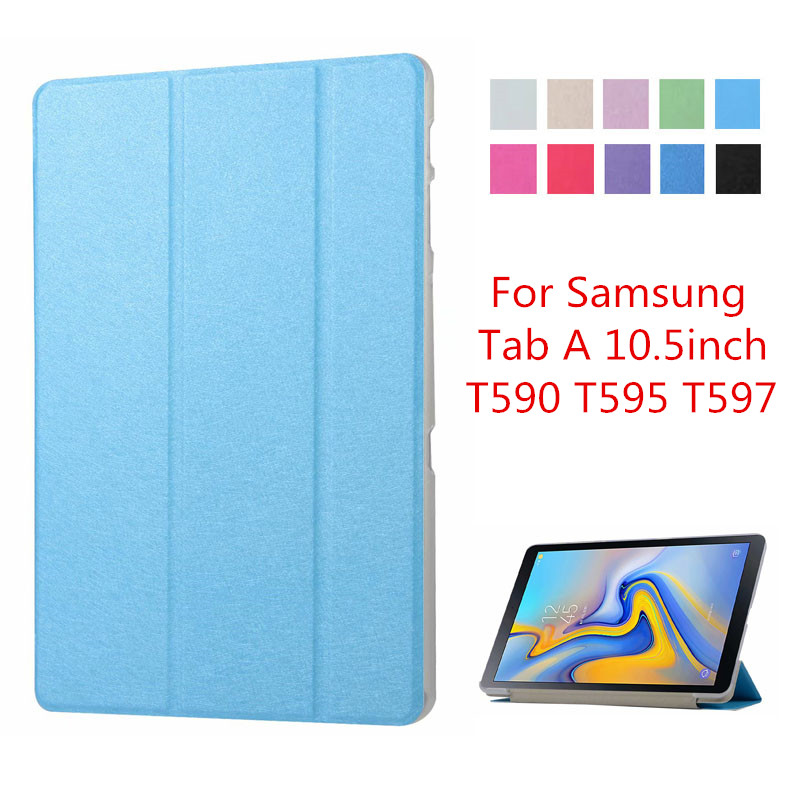 Case For Samsung Galaxy Tab A A2 10.5 Inch 2018 SM T590 T595 T597 Stand Cover For Galaxy Tab A2 10.5 Case