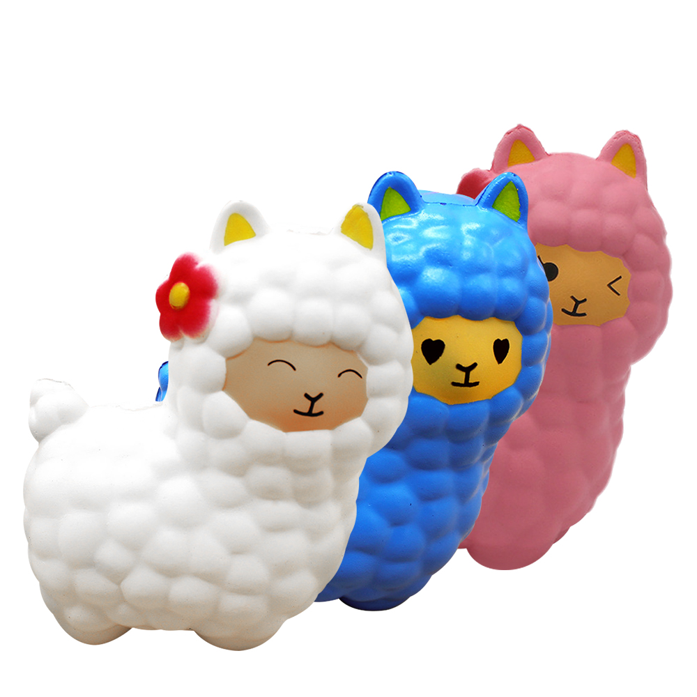 Antistress Jumbo Squishy Sheep Stress Relief Toys Squishe Novelty Gag Toys Anti-stress Fun Popular Squeeze Gags Practical Jokes