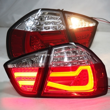 For BMW E90 320i 323i 325 330 335 LED Tail Light Red White 2005-2008 Year JY