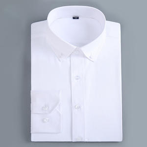 Shirts Office-Tops Standard-Fit-Dress Button-Up Work Business Long-Sleeve Formal Casual