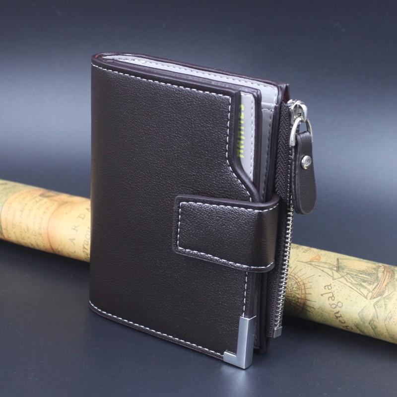 HOT män läder plånböcker män koppling läder dragkedja väska - Plånböcker - Foto 2