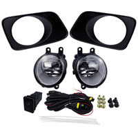 Fog Light Assembly for Toyota Corolla Axio Fielder 2007 Car Accessories Sets ABS Plastic 4300K Yellow 12V 55W Auto Halogen Lamp