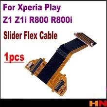 1pcs For Xperia Play Z1 Z1i R800 R800i top quality New Slide slider Flex Cable