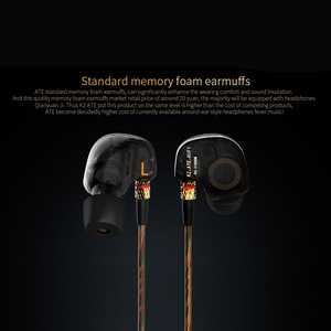 Image 3 - ต้นฉบับKZ ATE ATR ATE SกีฬาหูฟังหูตะขอHigh EndไฮไฟหูฟังIn Earเบสโทรศัพท์เพลงที่ชื่นชอบพิเศษใช้เอียร์บัด