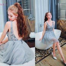 Коктейльные платья с блестками 2019 Элегантные Короткие трапециевидные
