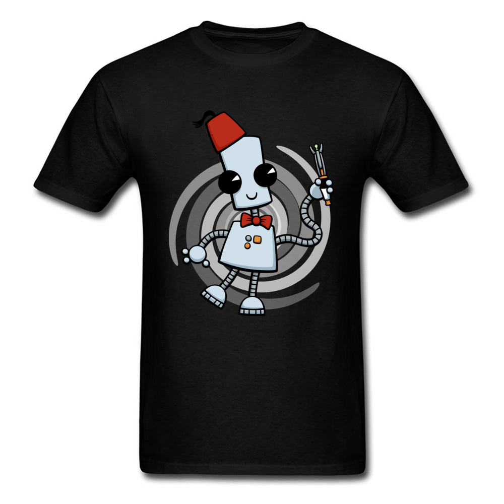 Leisure Ned The Time Traveller Tshirt Anime VALENTINE DAY Tops Shirts Prevalent Crew Neck 100% Cotton Tops Tees Men T Shirt