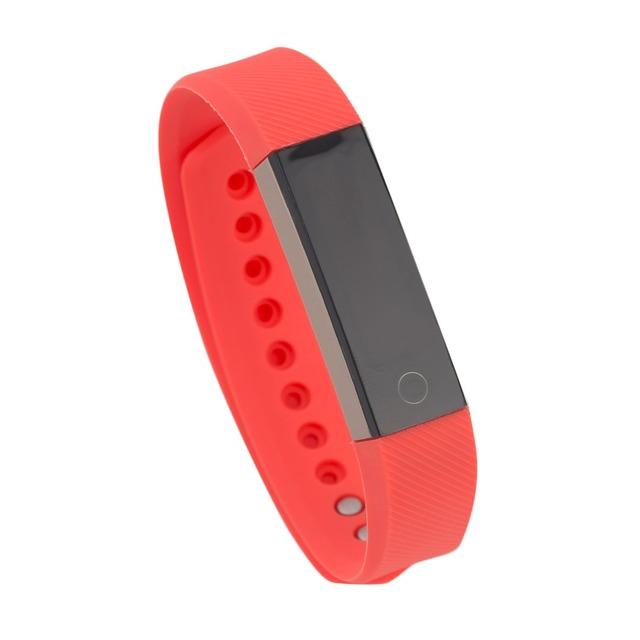 Pequeno K 0.86 Polegada Tela Oled Bluetooth 4.0 Pulseira Inteligente da Frequência Cardíaca de Detecção de Controle de Toque Inteligente Pulseira