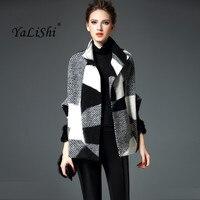 2017 Autumn Winter High Quality Wool Woolen Coat Fashion Female Elegant Temperament Short Wool Coat Batwing