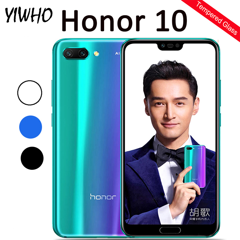 Protective Glass Honor 10 Tempered Glass on for Huawei Honor10 COL L29 Honor10 Honer 10 5.84inch Screen Protector Safety Film-in Phone Screen Protectors from Cellphones & Telecommunications