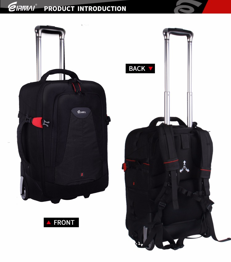 Photo Travel Nylon waterproof durable rolling backpack Carry-On Compatible  Lightweight Trolley valigia trolley leggero e robusto 705f987a54
