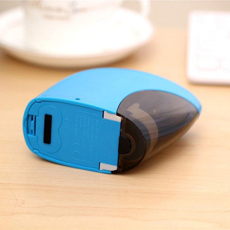 Канцелярские точилка для карандашей школьные принадлежности автоматический точилка для карандашей офисные аксессуары электрический сенс...