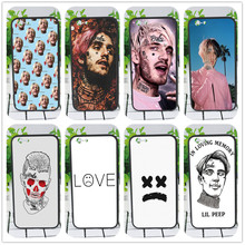 Lil Peep phone Case For iphone 6 5s X 7 8 Plus Black silicone case For Samsung s5 6 s7 edge s8 s9 plus Case Cover