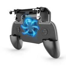PUBG Mobile Controller Gamepad Trigger Aim Button L1R1 Shooter Joystick For Smartphone Cooler Fan with 2000/4000mAh Power Bank