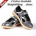 2016 Nova Professional Sapato Agachamento Treinamento de Levantamento de peso levantamento de Peso Sapatos Deslizamento de Couro Resistente KWE231