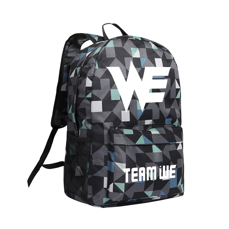 Zshop League of Legends Backpacks LOL OMG WE School Bags for Boys Ezreal Zed Boogbags SK Telecom Travel Bags Mochila Male