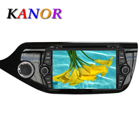 Free Shipping 1024 600 Quad Core ROM 16G Android Car DVD GPS For KIA Ceed 2013