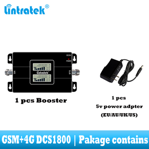 Image 3 - Lintratek Free Shipping 4G Lte 1800 Cellular Signal Repeater GSM 900 Mobile Phone Amplifier 2G 4G 65dB Dual Band Signal Booster