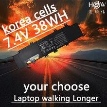 HSW  Battery C21-x502 Battery for Asus Vivobook X502 X502c X502ca Series Laptop battery 7.4v 38wh bateria akku new original genuine new laptop battery b41n1304 for asus vivobook v451l v451la laptop battery b41n1304 14 4v 46w bateria akku