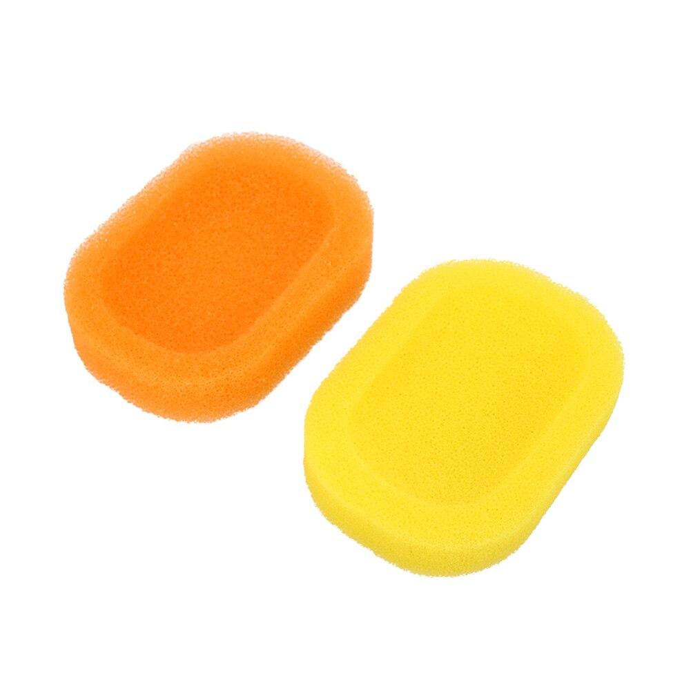 Портативный, цвета леденцов губка мыльницы тарелка Коробка Чехол для хранения легко сохнет ванная комната комплект аксессуары мыльница
