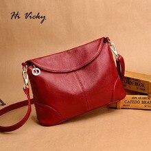 2018 quente de alta qualidade bolsa feminina de luxo vermelho saco do mensageiro macio couro genuíno moda senhoras crossbody bolsas femininas