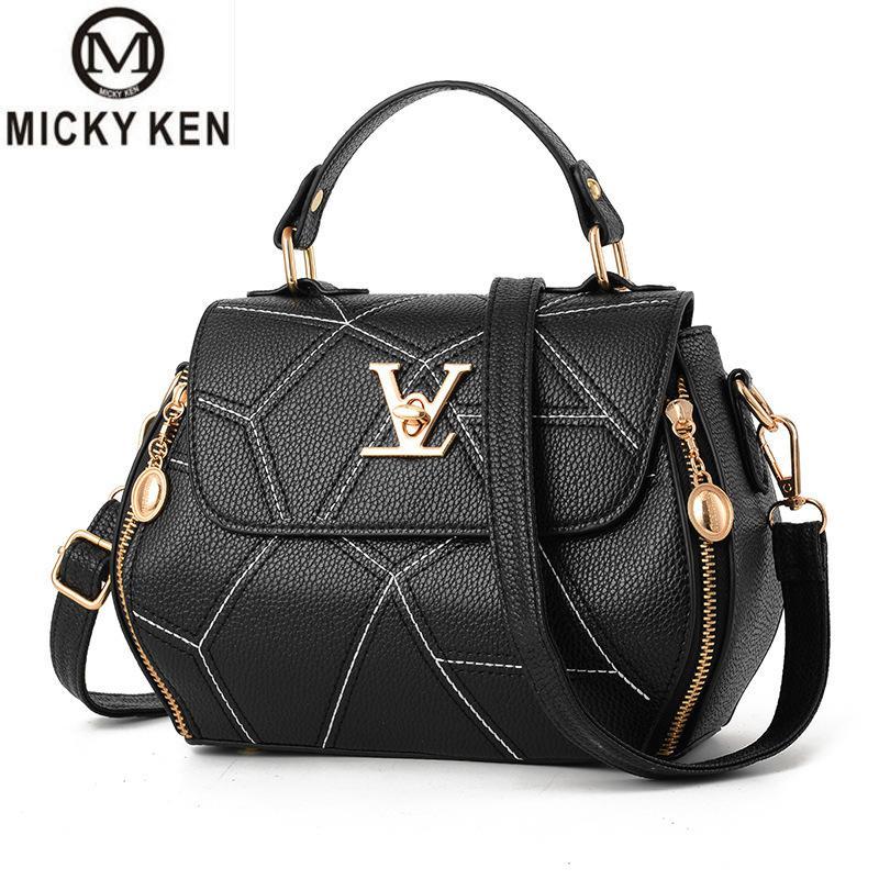 2019 Hot Flap V Women's Luxury Leather Clutch Bag Ladies Handbags Brand Women Messenger Bags Sac A Main Femme Famous Tote Bag