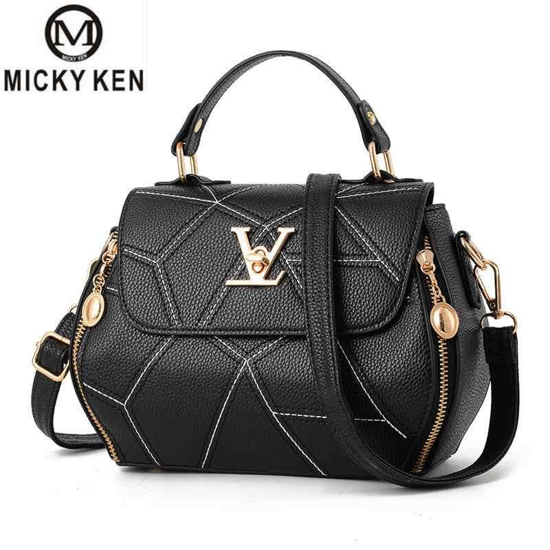2019 quente flap v bolsa de embreagem de couro de luxo das senhoras bolsas marca feminina mensageiro sacos sac a principal femme famosa bolsa