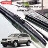 TOMMIA 2pcs Front Soft Rubber Windscreen Windshield Wiper Blades For KIA Sorento 09 14