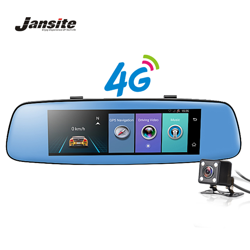 Jansite 4G WIFI Car DVR 7 86 Touch Screen Android Car font b Camera b font