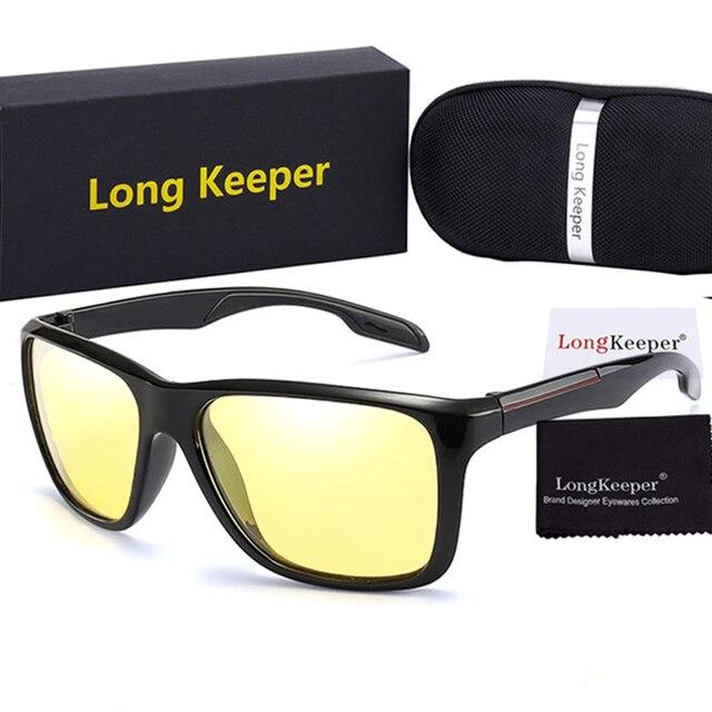 Photochromic Berubah Warna Kacamata Hitam Pria Terpolarisasi Bunglon Sun  Glass Malam Visi Kuning Lensa Kacamata untuk 0c4c9b5d61