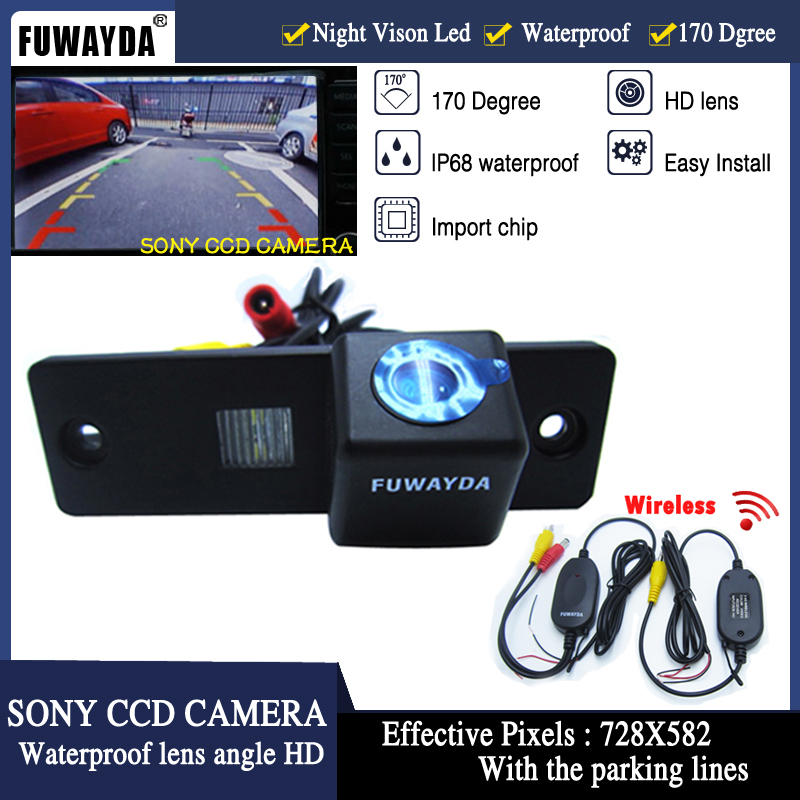 FUWAYDA Wireless LED Night Vision waterproof SONY CCD Car Rear View Reverse Paking Camera for Toyota 4Runner Land Cruiser Prado