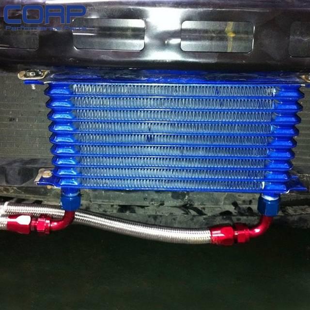 15 Row Oil Cooler Kit For BMW E36/E46 M3 135/E90 335/640/740