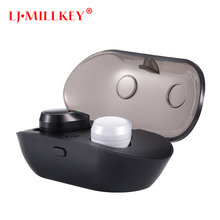 TWS 5.0 Bluetooth headphone 3D stereo wireless earphone with dual microphone LJ-MILLKEY YZ232