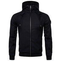Fashion Male Jackets Solid color Windbreaker Jacket Men Coat Wind Breaker Mens Jackets Coats S XXL