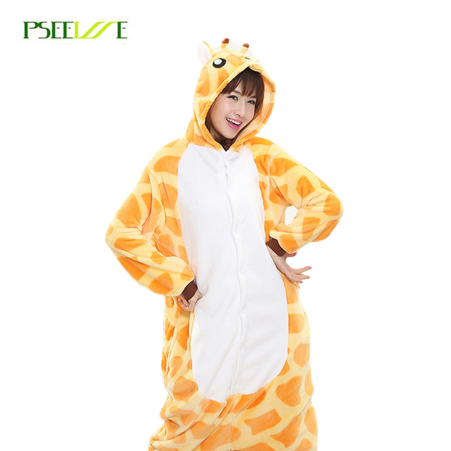f13bed695 Aliexpress.com   Buy Warm flannel onesies animal Adult Pajamas women ...