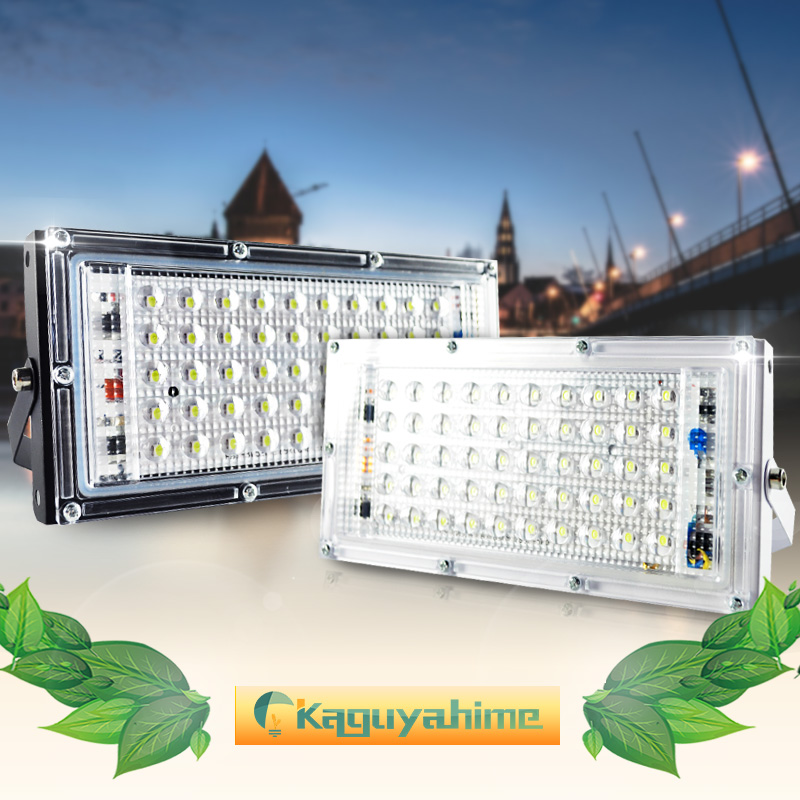 LED Flood Light 50W 10W Perfect Power Floodlight LED Street Lamp AC 220V 240V Waterproof IP65 Outdoor Lighting LED Spotlight in Floodlights from Lights Lighting