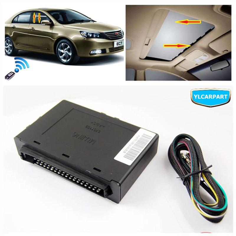 Pour Geely Emgrand 7 EC7 EC715 EC718 Emgrand7 E7, EC7-EV, contrôleur de fenêtre de voiture, avec alarme et contrôleur de lucarne